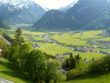 Panorama Mayrhofen Schwendau Hippach